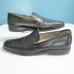 Men's Black Leather Cole Haan Loafers-12